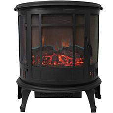 Comfort Glow - The Claremont Electric Stove, Black