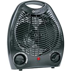 Comfort Zone Personal Heater Fan - Black