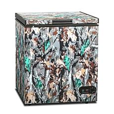 Commercial Cool Chest Freezer Stand Up 5.4 Cubic Feet - Camouflage