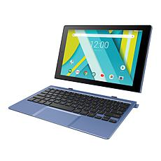 """Compaq 10"""" HDIPS 32GB Quad-Core Tablet with Docking Keyboard"""
