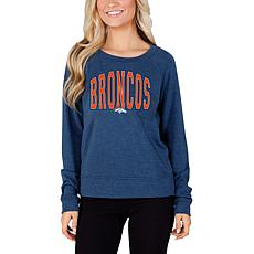 Concept Sports Mainstream Ladies Knit Long Sleeve Top - Broncos