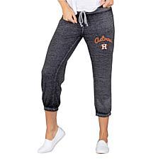 Concepts Sport Houston Astros Women's Knit Capri Pant