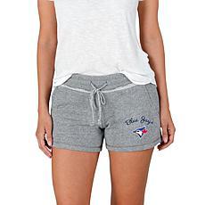 Concepts Sport Mainstream Ladies Knit Short - Blue Jays