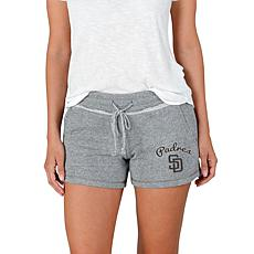 Concepts Sport Mainstream Ladies Knit Short - Padres