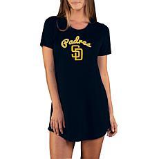Concepts Sport Marathon Ladies Knit Nightshirt - Padres