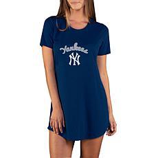 Concepts Sport Marathon Ladies Knit Nightshirt - Yankees
