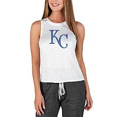 Concepts Sport Officially Licensed MLB Ladies Knit Tank Top Royals