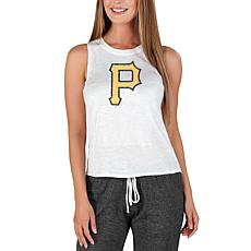 Concepts Sport Officially Licensed MLB Ladies Knit Tank Top Pirates