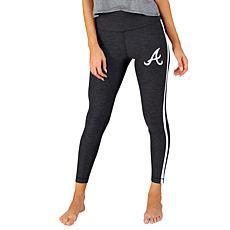 Concepts Sport Officially Licensed MLB Ladies Legging - Braves