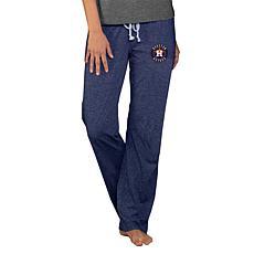 Concepts Sport Quest Ladies Knit Pant - Astros