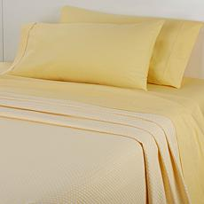 Concierge 100% Cotton Sheet and Blanket Set - Twin