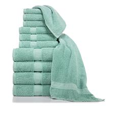 Concierge Collection 100% Cotton 12-piece Towel Set