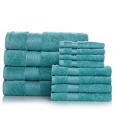 Concierge Collection 100% Turkish Cotton 12pc Towel Set