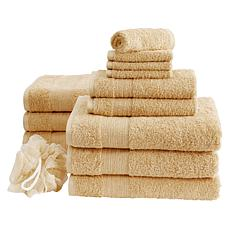 Concierge Collection 13-piece 100% Turkish Cotton Towel Set