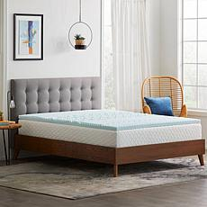 "Concierge Collection 2"" Gel Infused Zoned Twin Mattress Topper"