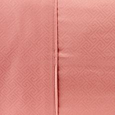 Concierge Collection 2-piece Greek Key Standard Pillowcase Set