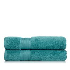 Concierge Collection 2pk Turkish Cotton Bath Towels