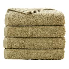 Concierge Collection 4-piece 100% Turkish Cotton Bath Towel Set