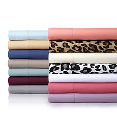 Concierge Collection 4pc Microfiber Sheet Set - Full