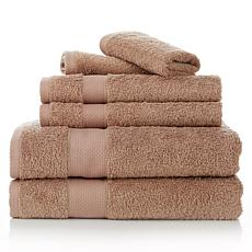 Concierge Collection 6-piece 100% Turkish Cotton Towel Set