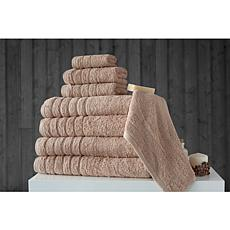 Concierge Collection Barnum 8-piece 100% Turkish Cotton Towel Set