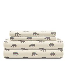 Concierge Collection Elements Conversational Sheet Set - Twin
