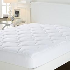 Concierge Collection Large Flag Quilted Mattress Pad