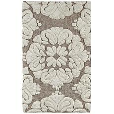 Concierge Collection Medallion 2-piece Bath Rug Set