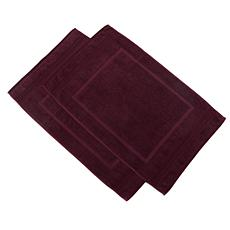 Concierge Collection Turkish Cotton 2-pack Bath Mat