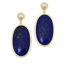 Connie Craig Carroll Jewelry Kate Oval Gemstone Drop Earrings