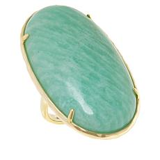 Connie Craig Carroll Jewelry Kate Oval Gemstone Statement Ring
