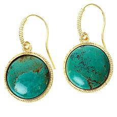 Connie Craig Carroll Jewelry Layla Green Turquoise Drop Earrings
