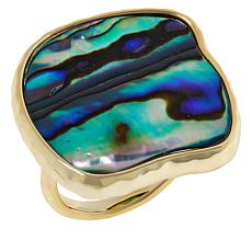 Connie Craig Carroll Jewelry Morgan Abalone Cocktail Ring