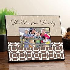 Contemporary Personalized Picture Frame