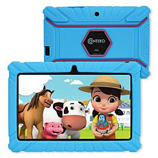 """Contixo 7"""" Kids Tablet with Protective Case and 16GB Storage in Blue"""