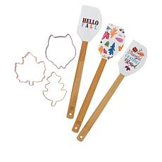 Cook with Color 6-Piece Harvest Baking Set