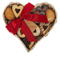 Cookies Con Amore 2 lb. Heart Gift Basket