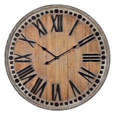 """Cooper Classics """"Linden"""" Wall Clock"""