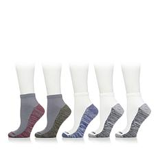 Copper Fit™ 5 Pair Mens Cooling Quarter  Socks