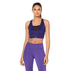 Copper Fit™ Core Compression Sports Bra with Mesh Inserts