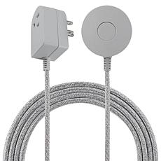 Cordinate 2-pack Table Top Switch with Braided 6' Cord and 1 Outlet
