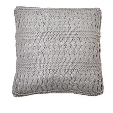 "Country Living Home Collection 18"" x 18"" Crochet Decorative Pillow"