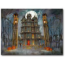 "Courtside Market Haunted House II 16"" x 20"" Canvas Wall Art"