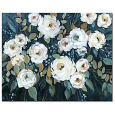 Courtside Market Moonlit Garden I 16x20 Canvas Wall Art
