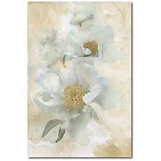 Courtside Market Soft White Blooms II 16x20 Canvas Wall Art