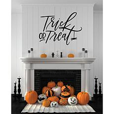 """Courtside Market Trick or Treat 36"""" x 36"""" Decal"""