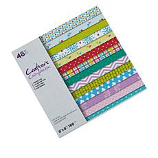 "Crafter's Companion 48-Sheet 8"" x 8"" Printed Paper Pad"