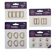 Crafter's Companion Brasstone Threaders Hardware