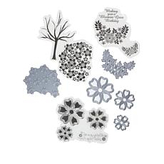 Crafter's Companion Cherry Blossom Stamp and Die Sets