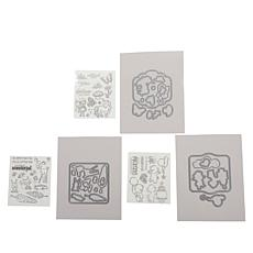 Crafter's Companion Cute Character Box Stamp and Die Set